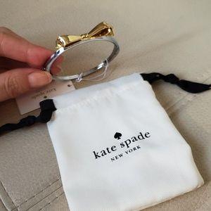 NWT Kate Spade bracelet, with bow